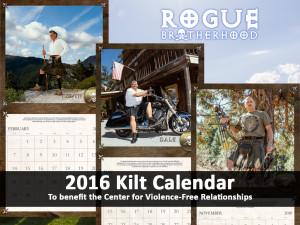 Rogue Brotherhood Charity Kilt Calendar