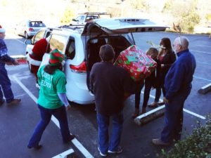 The Center for violence-free relationships - Elves deliver Joy!