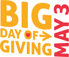 Big Day of Giving May 3rd