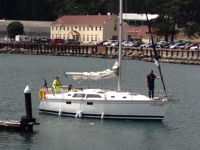 34 foot sailboat